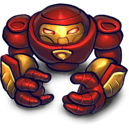 256x256px size png icon of HULKBUSTA2
