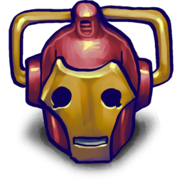 256x256px size png icon of IRONCYBERMAN!!