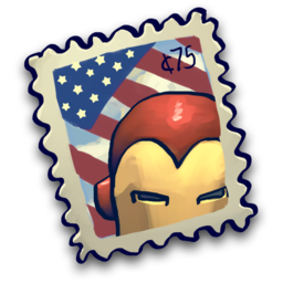 256x256px size png icon of Iron Stamp