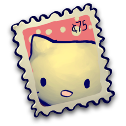 256x256px size png icon of Kitty IN Stizamp