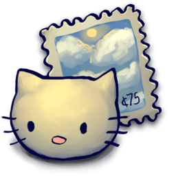 256x256px size png icon of Kitty Stizamp