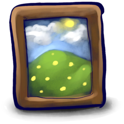 256x256px size png icon of Picture Frame Bray!