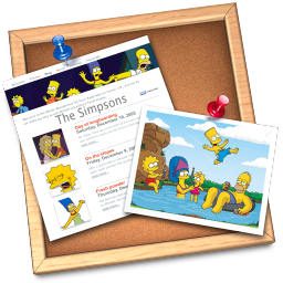 256x256px size png icon of iWeb simpsons