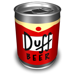 256x256px size png icon of Duff 1