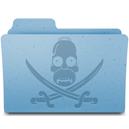 256x256px size png icon of Pirate Folder