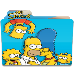 256x256px size png icon of Simpsons Folder 01