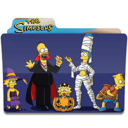 256x256px size png icon of Simpsons Folder 02