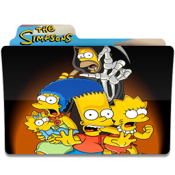 256x256px size png icon of Simpsons Folder 04