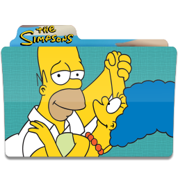 256x256px size png icon of Simpsons Folder 05