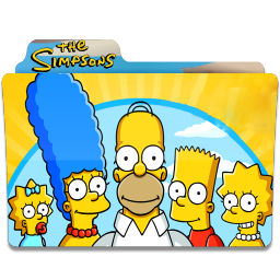 256x256px size png icon of Simpsons Folder 06