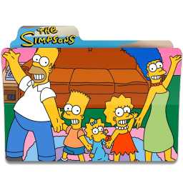 256x256px size png icon of Simpsons Folder 07