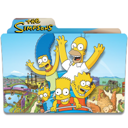 256x256px size png icon of Simpsons Folder 08