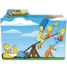 256x256px size png icon of Simpsons Folder 10