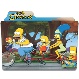 256x256px size png icon of Simpsons Folder 11