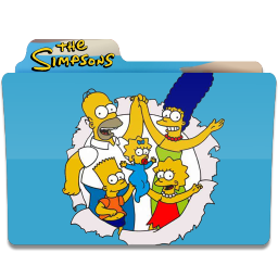 256x256px size png icon of Simpsons Folder 12