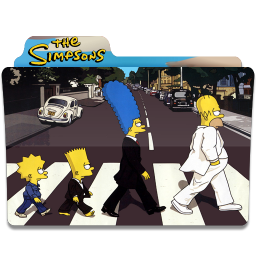 256x256px size png icon of Simpsons Folder 13