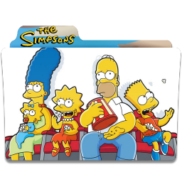 256x256px size png icon of Simpsons Folder 17