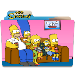256x256px size png icon of Simpsons Folder 18