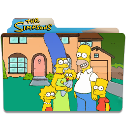 256x256px size png icon of Simpsons Folder 19