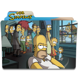 256x256px size png icon of Simpsons Folder 21