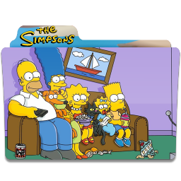 256x256px size png icon of Simpsons Folder 24