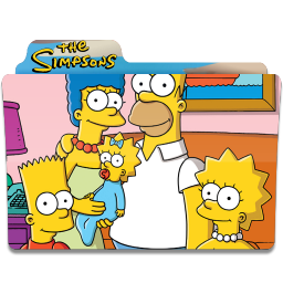 256x256px size png icon of Simpsons Folder 26