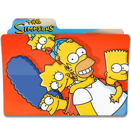 256x256px size png icon of Simpsons Folder 27