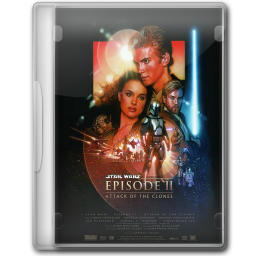 256x256px size png icon of Star Wars Attack of the Clones