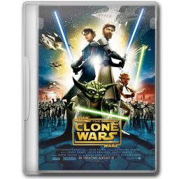 256x256px size png icon of Star Wars The Clone Wars