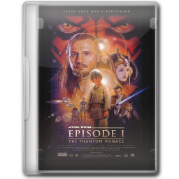 256x256px size png icon of Star Wars The Phantom Menace
