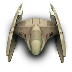 256x256px size png icon of DridStarFighter