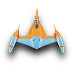 256x256px size png icon of NabooStarFighter
