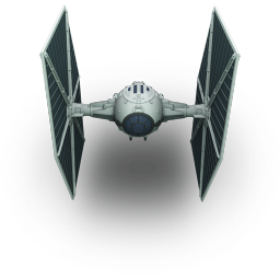256x256px size png icon of TieFighter