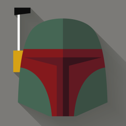 256x256px size png icon of Boba Fett