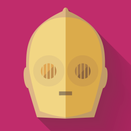 256x256px size png icon of C3PO