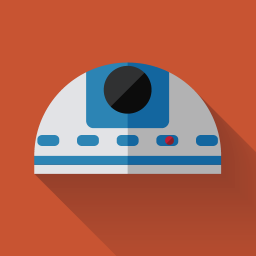 256x256px size png icon of R2D2