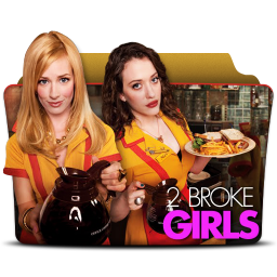 256x256px size png icon of 2 Broke Girls