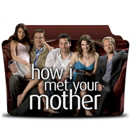 256x256px size png icon of How I Met Your Mother