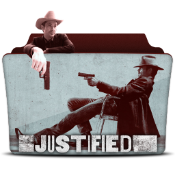 256x256px size png icon of Justified