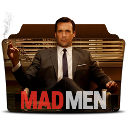 256x256px size png icon of Mad Men