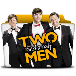 256x256px size png icon of Two and a Half Men