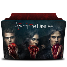 256x256px size png icon of The Vampire Diaries v2