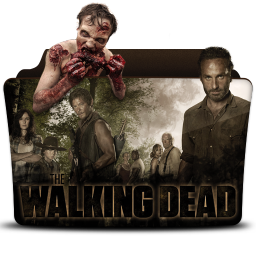 256x256px size png icon of The Walking Dead