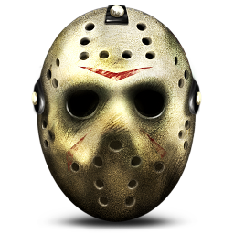 256x256px size png icon of Jason Mask