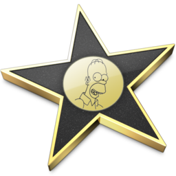 256x256px size png icon of iMovie Homer