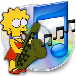 256x256px size png icon of iTunes lisa