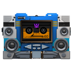 256x256px size png icon of Transformers Soundwave tape front
