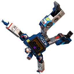 256x256px size png icon of Transformers Soundwave