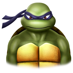 256x256px size png icon of Donatelo