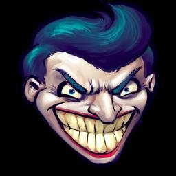 256x256px size png icon of Comics Batman Joker